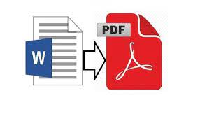 Docx to pdf convert document thanks to hassle-free technology